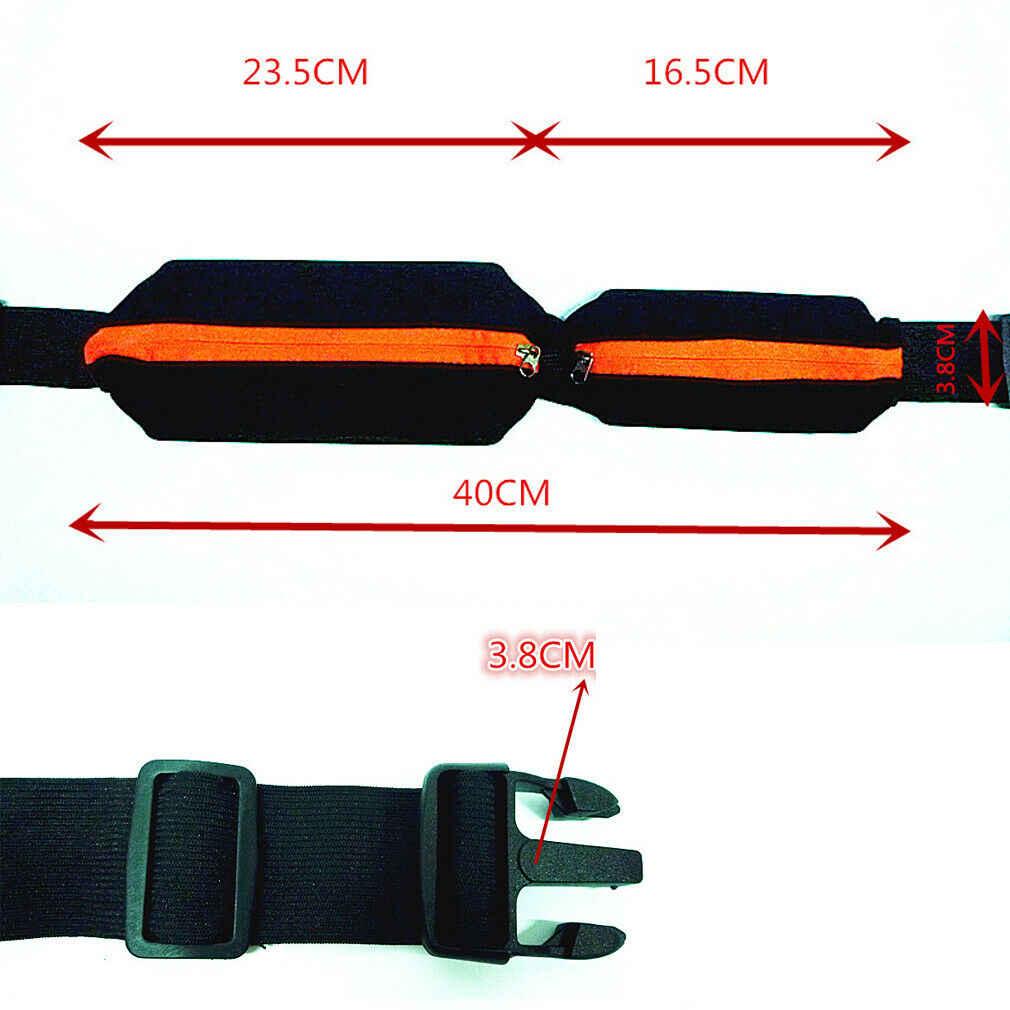 Nova Cintura Bum Bag Aptidão Que Funciona Jogging Ciclismo Bolsa Pochete Esportes Cinto