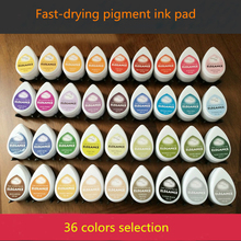 (10 pieces/lot) drop shape pigment ink pad eyes for Brick carving rubber stamp