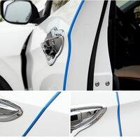 Универсальный двери автомобиля царапинам протектор/край гвардии Обложка аварии бар анти столкновения бампер защиты стикеры полосы авто