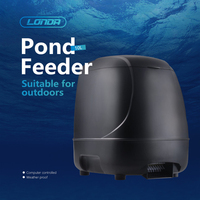 Large Capacity Automatic Fish Feeding Machine Pet Timer Auto Food Dispenser for Aquarium Computer Controlled Koi Pond Feeder 10L