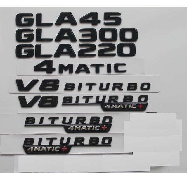 8fd5ee177814 En venta Negro brillante para Mercedes Benz X156 W156 GLA45 AMG ...