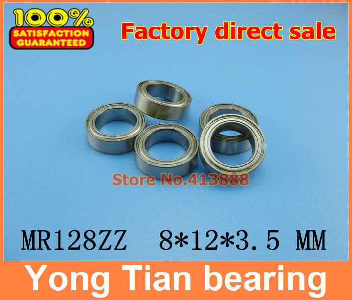 (1pcs) High quality miniature stainless steel deep groove ball bearing (stainless steel 440C material) SMR128ZZ 8*12*3.5 mm free shipping 10 pcs smr85zz abec3 5x8x2 5mm high quality stainless steel bearing 2pcs lot ball bearing 5x8x2 5