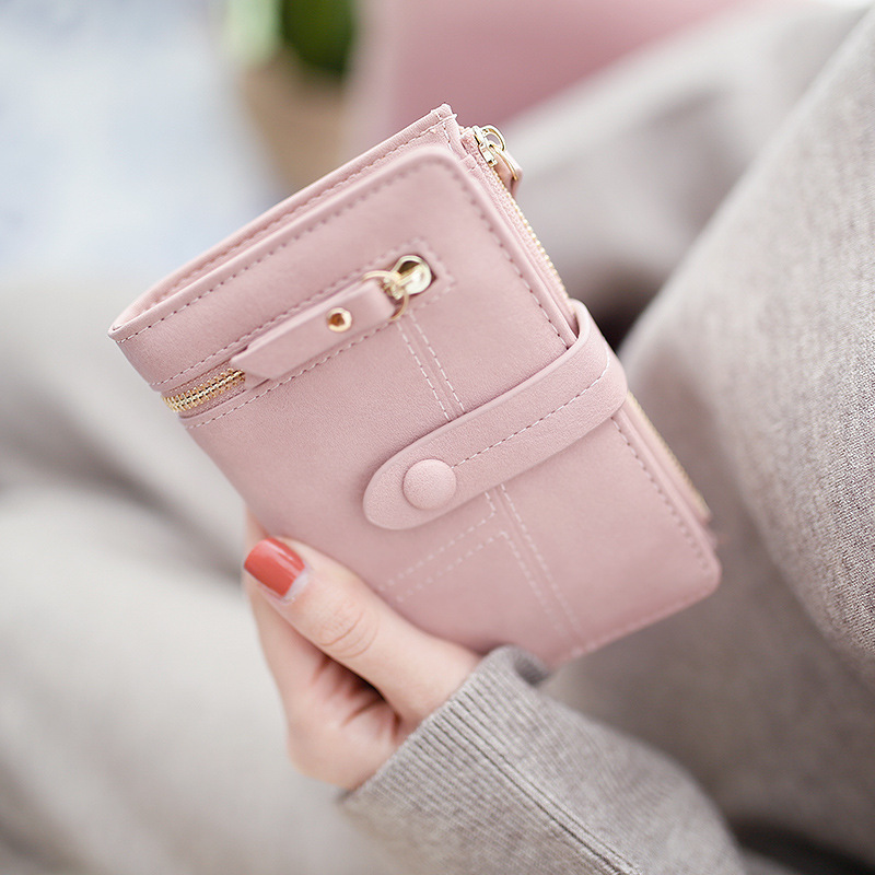 Wallet Women New Fashion Top Quality Small Wallet PU Leather Purse Female Money Bag Small lady Zipper Coin Pocket Brand Hot /15