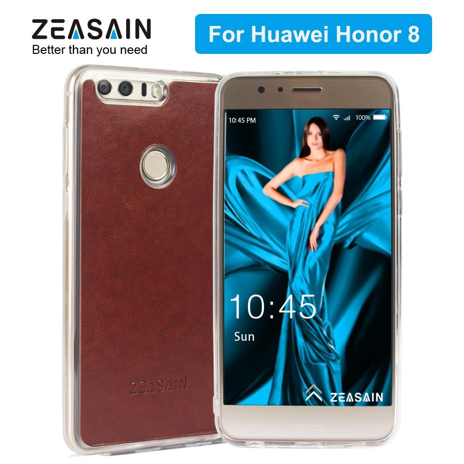 ZEASAIN- ի թափանցիկ հետևի շապիկ Huawei Honor 8 - Բջջային հեռախոսի պարագաներ և պահեստամասեր - Լուսանկար 1