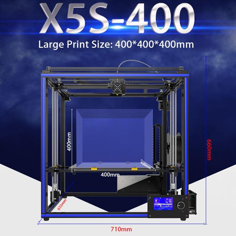 400*400*400mm Mis À Jour Tronxy X5S 3D Imprimante Kit D'impression Grand Taille Pleine Qualité Haute Précision extrudeuse DIY Double Z-axe Stable - 6