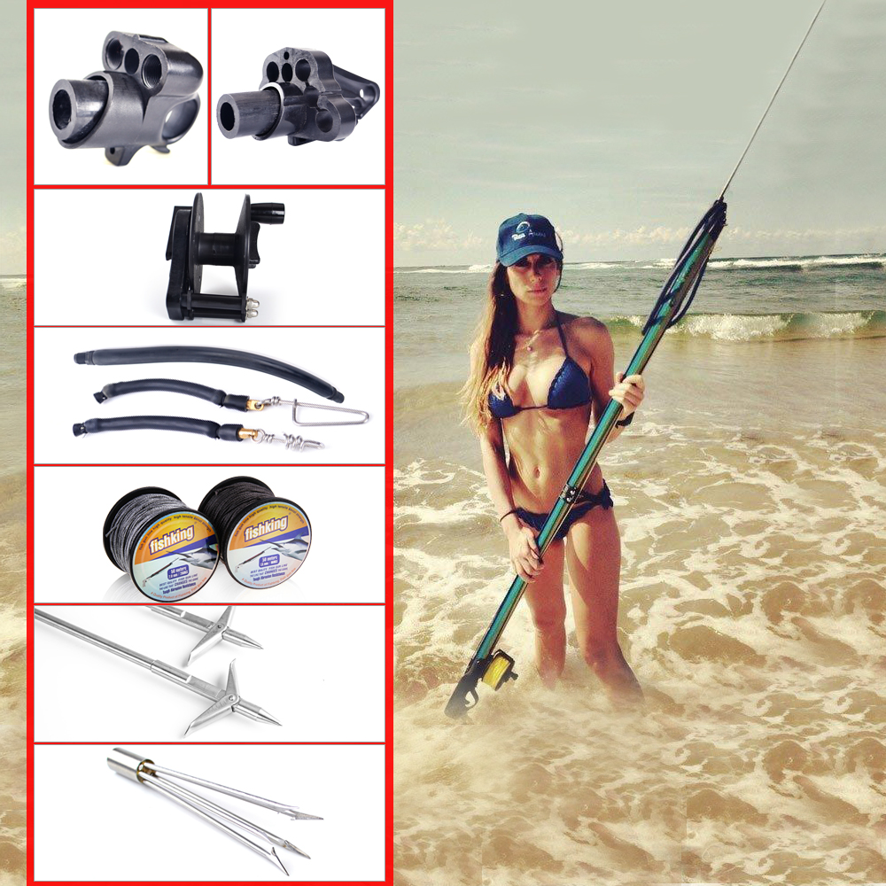 FISH KING New Hot Spearfishing Accessories Speargun Tool Tuna Fishing Line Jig Assist Line Fishing Reel FishingTackle