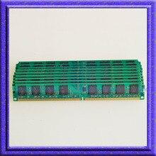 Kit 10 pcs 10×1 GB PC2-6400 DDR2 800 MHZ Bureau Mémoire 240pin DIMM Ram 800 faible densité mémoire ordinateur mise à niveau 10 pièce NOUVELLE