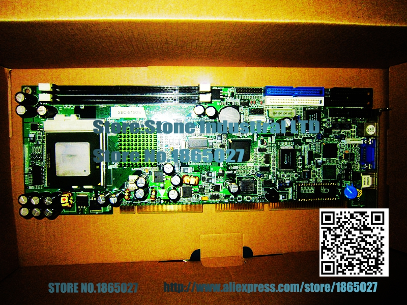 SBC-815GV full length P3 industrial motherboard to the CPU 100% test good quality  цены