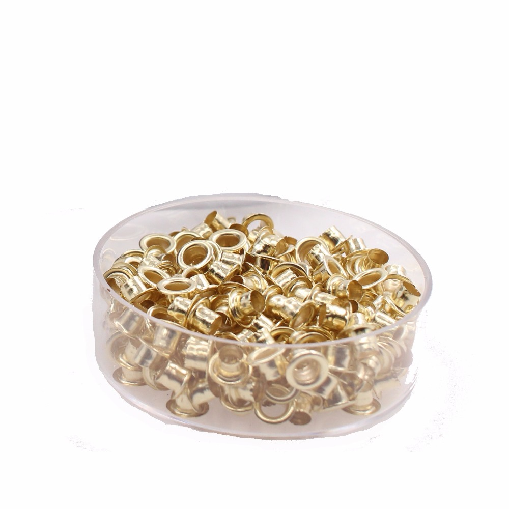Metal Eyelet For Binding Metal Retainer One Box Including 250 Pieces Eyelets