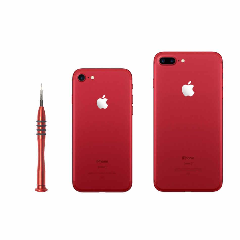 DIYFIX 0.8 Pentalobe Tornavida Apple iPhone 7 için Alt Yıldız Vidaları Açık Aracı Special Edition (Kırmızı)