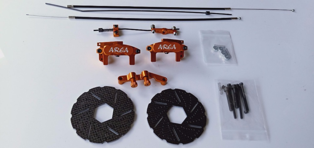 Area rc front cable brake system wire brake fit 1 5 baja 5B HPI KM Rovan