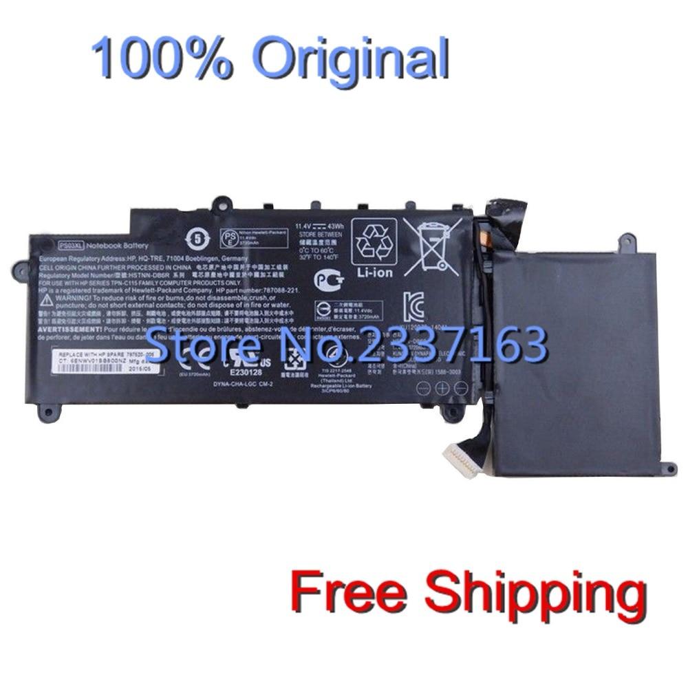 IECWANX 100% new Laptop Battery PS03XL (11.1V 43Wh) for HP Pavilion X360 787088-241 787520-005 DB6R HSTNN-DB6R-1