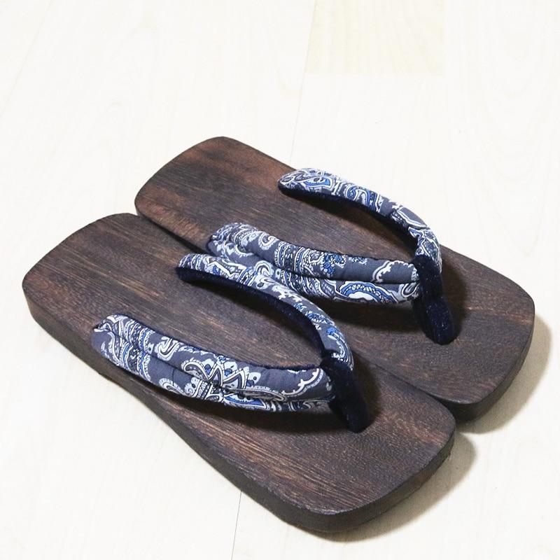 Geta bleu Chaussures Chine ivoire Pantoufles Flip Bois clair slip Flops Ciel Impression Beige pu Green vert Classial En marron Femmes Hommes Été army or Sabots noir Non gris 2018 Amateurs ardoisé qHw7II
