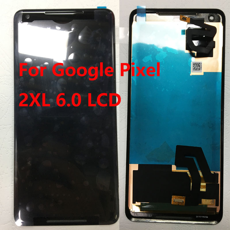ZUCZUG New 2880*1440 Touch Screen Digitizer Panel+LCD Display For Google Pixel 2XL 6.0 Inch+Repair Tools