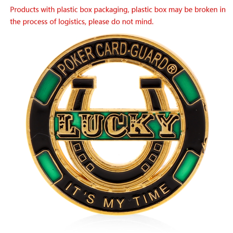 2018 New Lucky Poker Card Guard Its My Time Non-currency Coins Commemorative Coin Collection Art Craft Gift