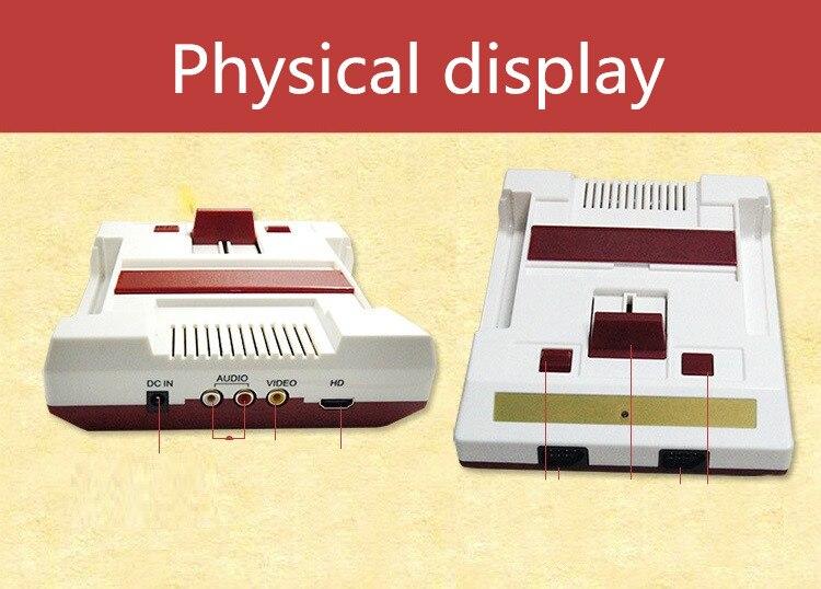 РС-3 HDMI и HD качестве ФК классическое ТВ красный и белый игровая приставка 2.4 G беспроводной двойной ручкой съемный желтую карточку