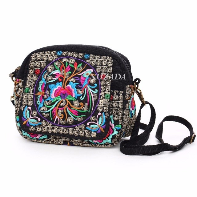 Shoulder Bags For Women Fashion Embroidery Canvas Retro Messenger Woman Bag Crossbody Chinese style cyd-002