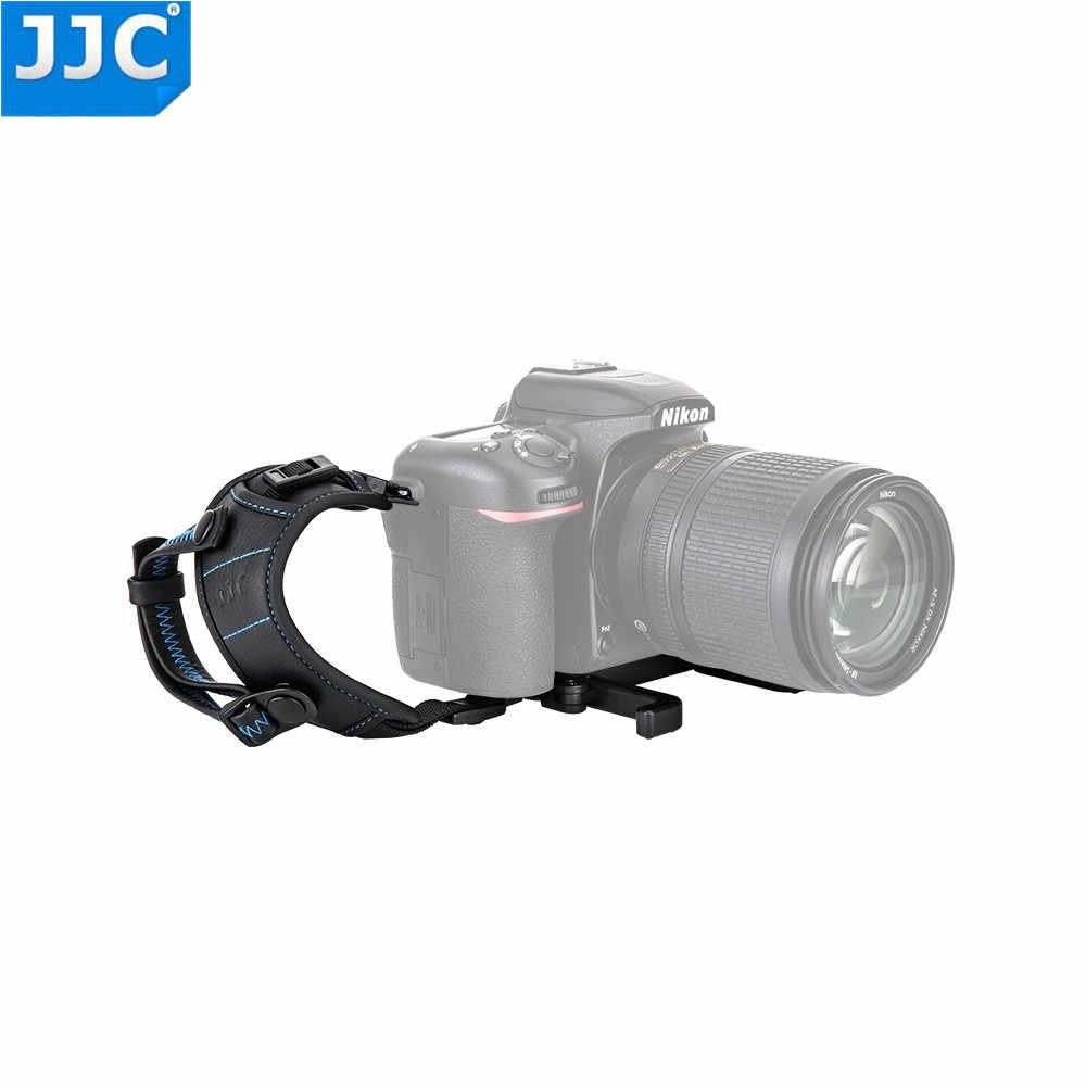 """JJC HS-PRO1M/HS-PRO1P Pegangan Tangan Tali untuk Kebanyakan Kamera DSLR dengan 1/4 """"-20 Tripod Soket untuk Sony /NIKON/Canon/Panasonic/Olympus"""
