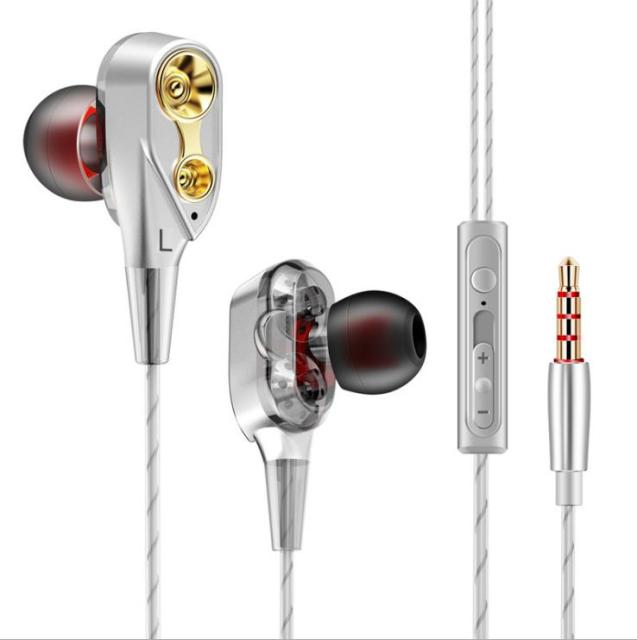 Wired Double Driver In-Ear Earphones