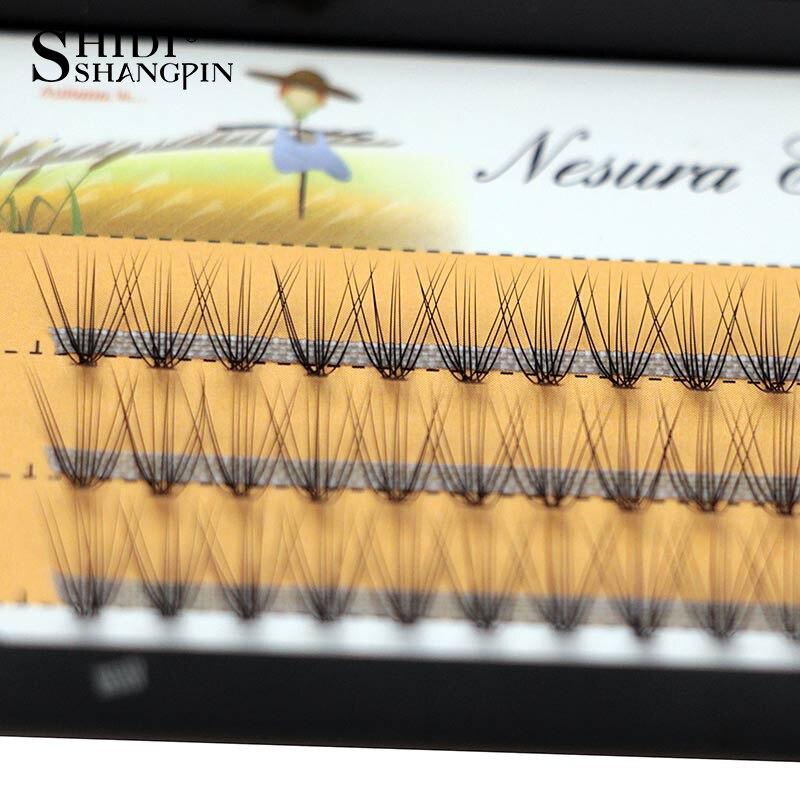 81b3a632931 60 pieces/lot 0.07 C Curl 8 10 12 mm Individual Lashes Eyelash Extension  Makeup False Lashes Eyelashes for Beauty