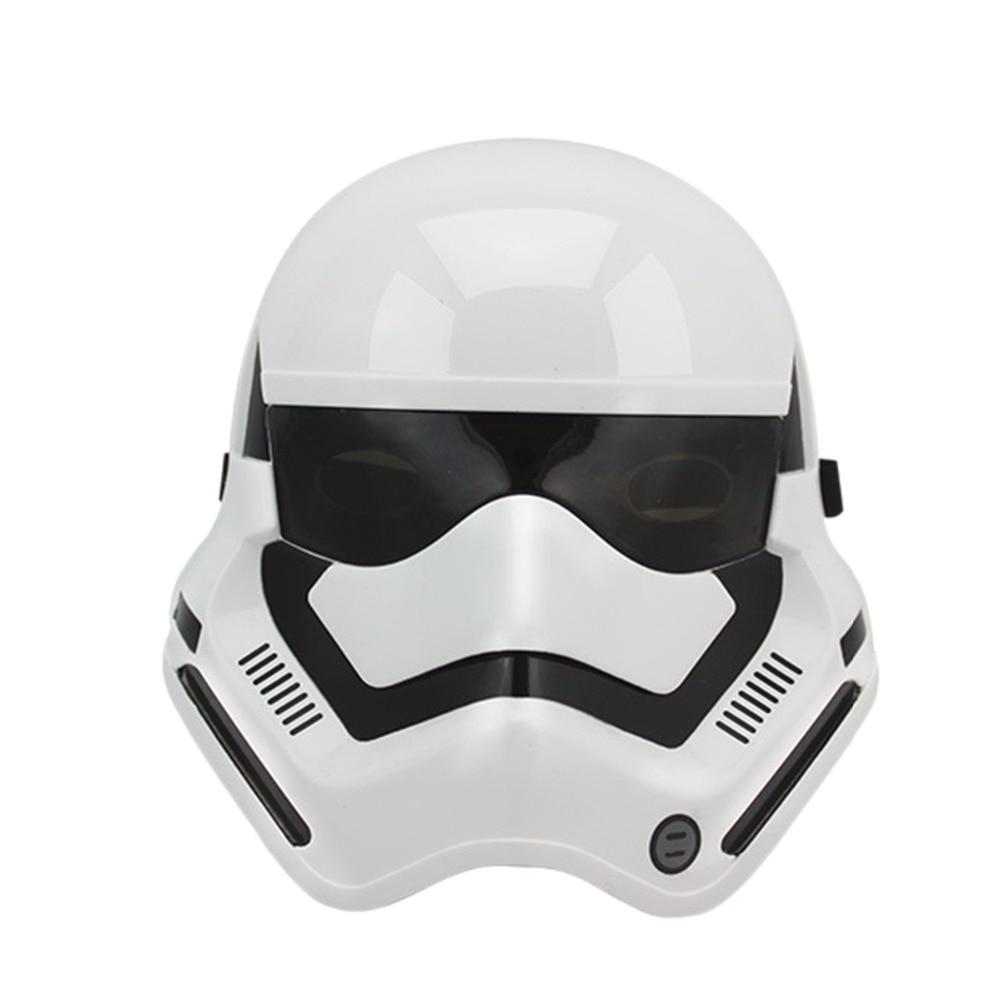 2 Colores Negro Blanco Máscara de Star Wars Casco Fresco Darth Vader - Para fiestas y celebraciones - foto 2