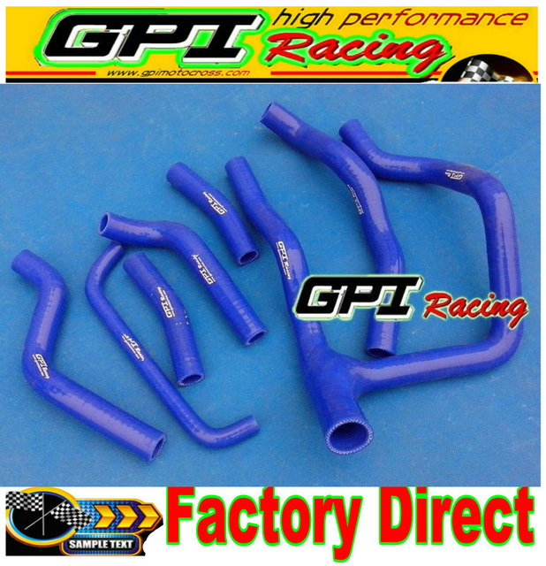 NEW GPI silicone radiator hose kit for Honda Transalp 600 XL600 XL XRV650 Africa Twin