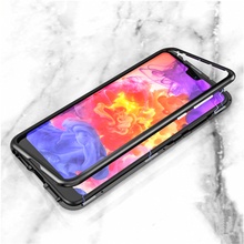Huawey P30 Pro Case Magnetic Adsorption Metal On The For Huawei Lite Light 30Lite Magnet Tempered Glass Back Cover
