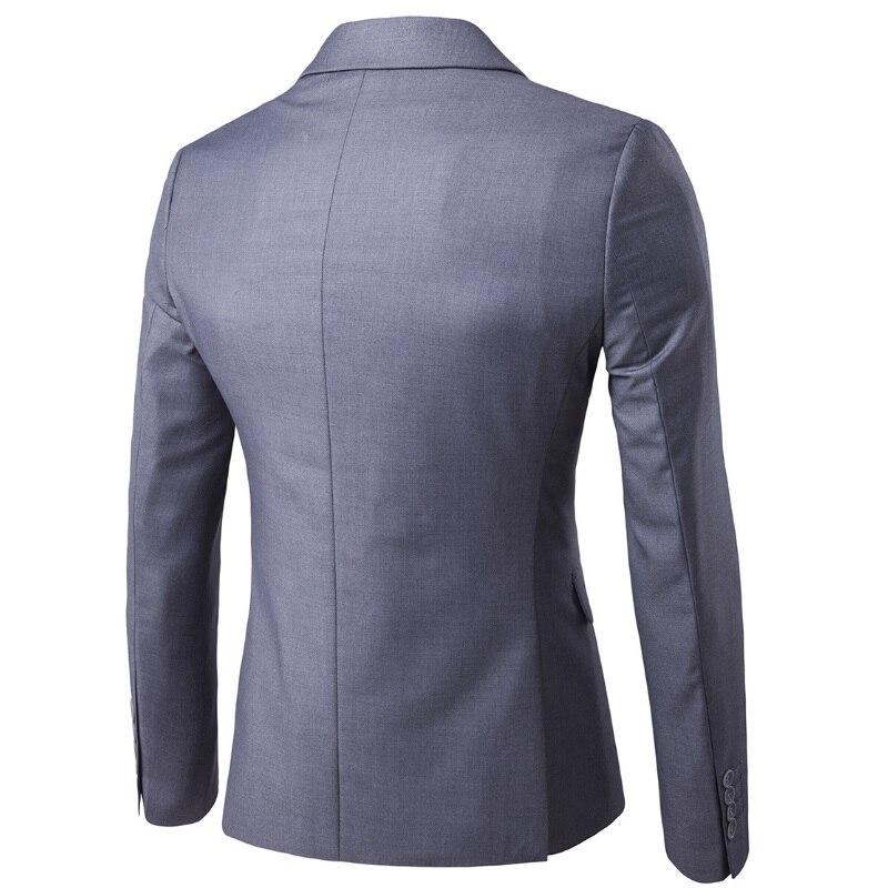 2020 di Autunno Della Molla di Affari Del Mens Casual Vestito (3 Pezzi/set) di Grandi Dimensioni, Più Fertilizzanti Singolo Fibbia Vestito Sottile Del Vestito da Sera 6XL - 2