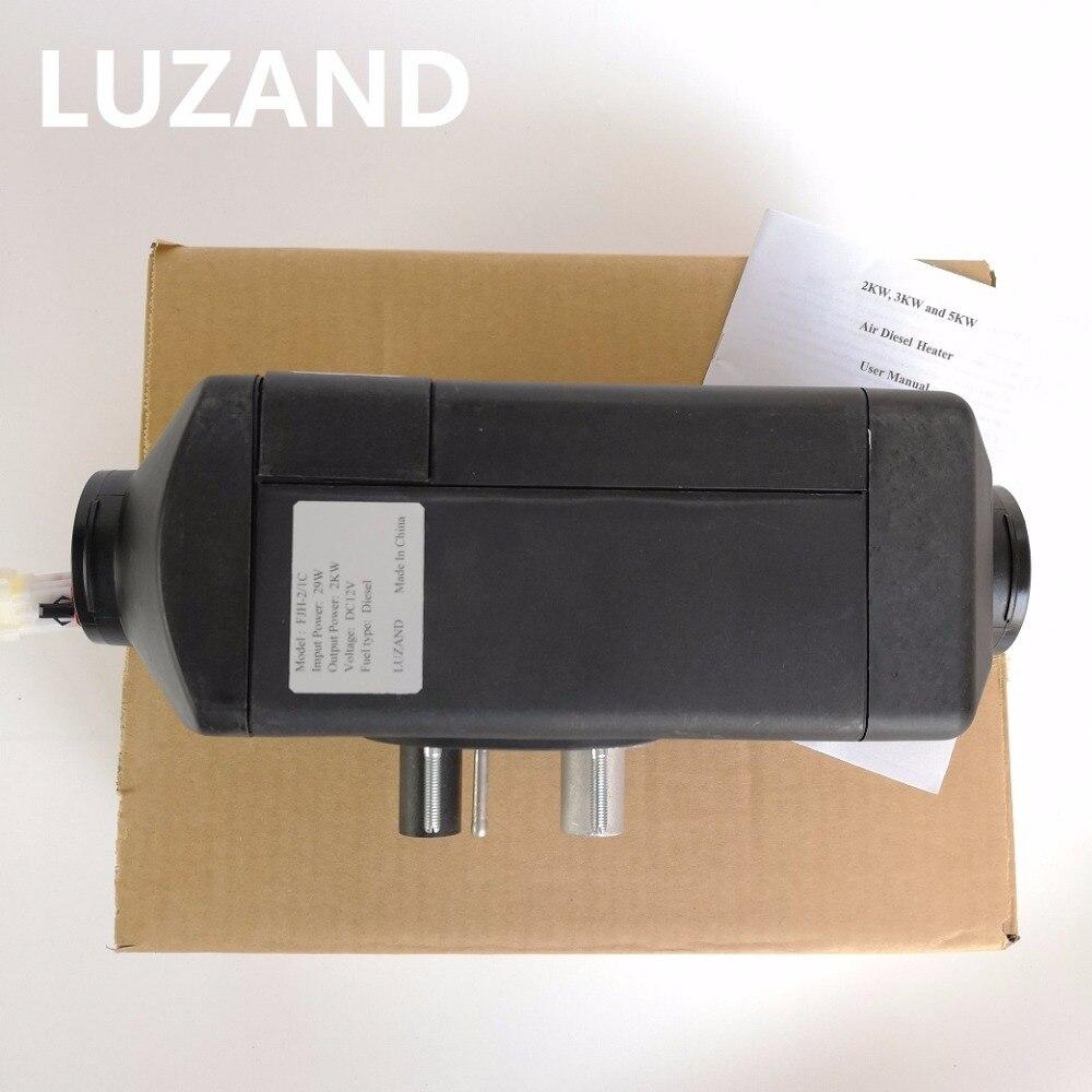 Doprava zdarma 2kw 24V Vzduchový naftový ohřívač pro domácí ohřívač vzduchu Podobné s Webasto ohřívač vzduchu Air Parking ohřívač