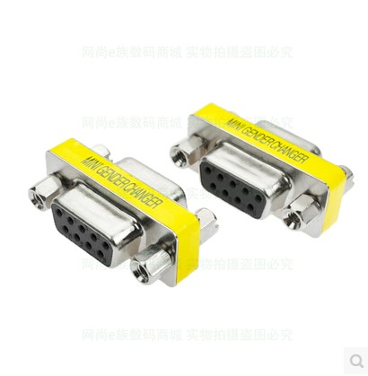 1pcs DB9 9Pin Female To Female Male To Male Male To Female Mini Gender Changer Adapter RS232 Serial Connector db9 male female adapter signals terminal module rs232 serial to terminal db9 connector