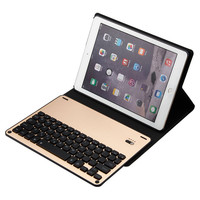 Ultra Thin Folio Cover With Removable Bluetooth Keyboard With 7color Backlit For 10 5 IPad