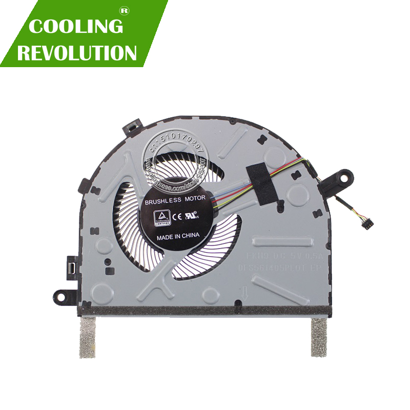 New For Lenovo IdeaPad 330S Series Laptop CPU Cooling Fan FRU5F10R07535 FKH9 DFS561405PL0T DC5V 0.5A