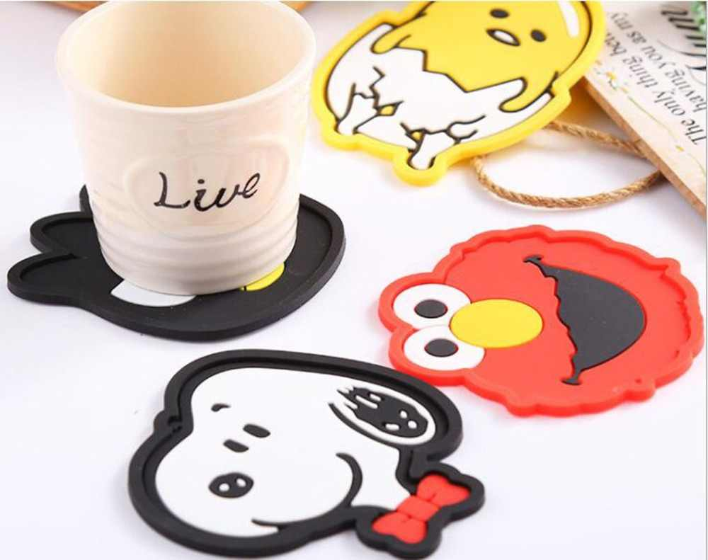 1pc 2019 Silicone Dining Table Placemat Coaster Kitchen