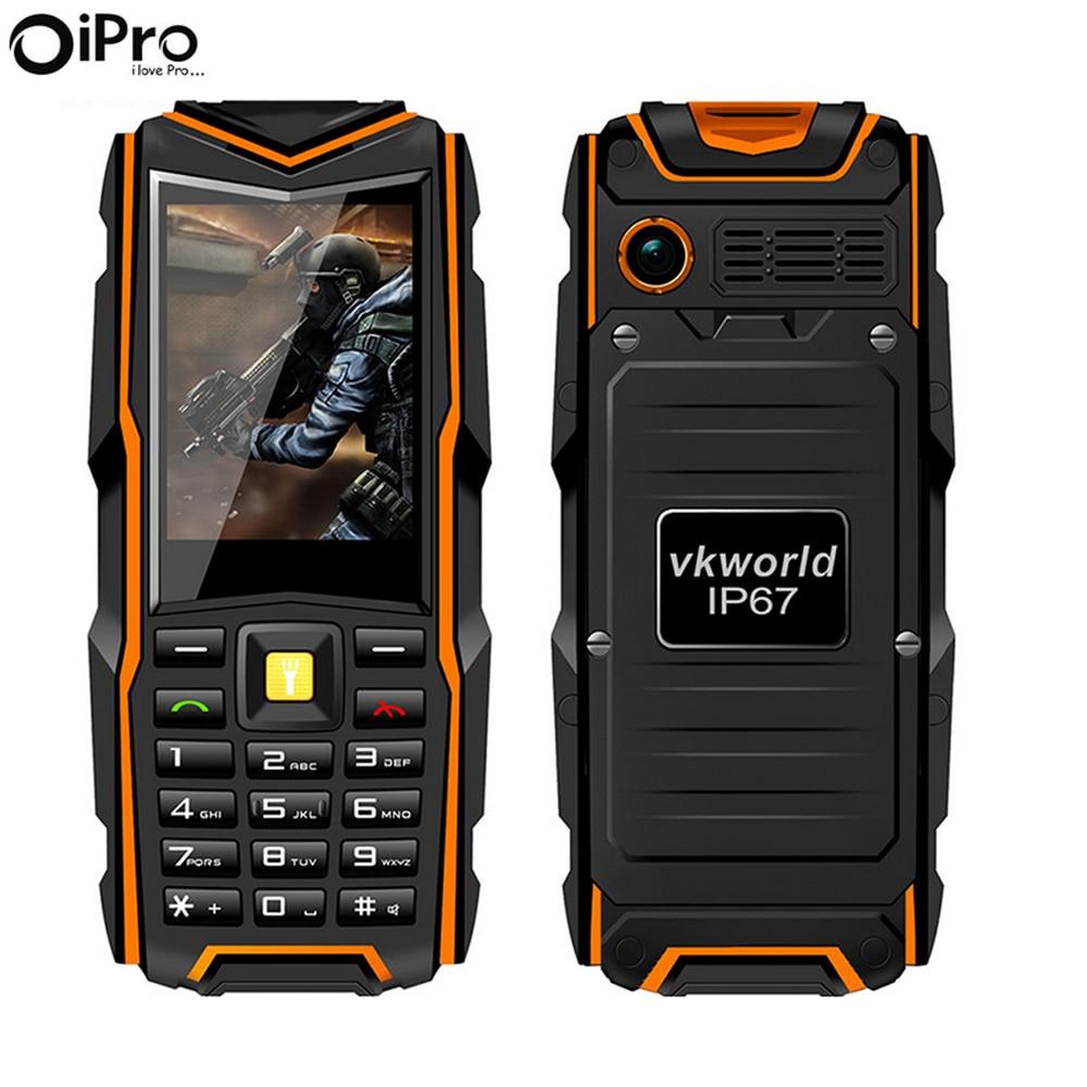 VKworld Stone V3 2 4 Waterproof Phone IP67 Dustproof Shockproof Dual Sim Card Mobile Phone 5200Mah