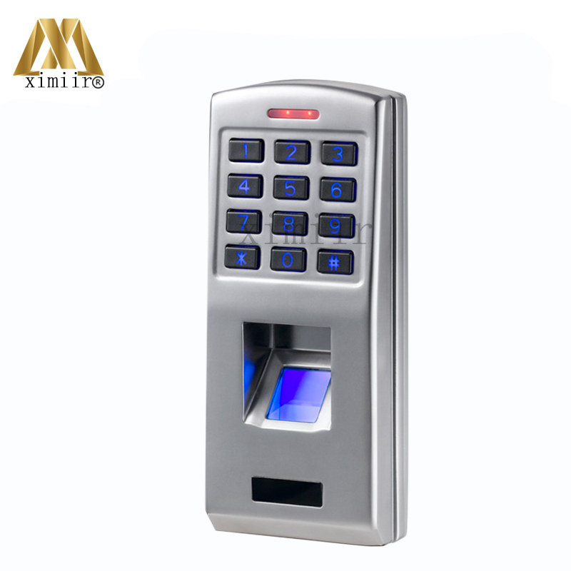 F3 Metal Case Fingerprint Door Access Control System With Keypad Standalone Biometric Fingerprint Password Access Control автоинвертор avs in 400w 400вт с 12в на 220в