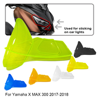 Motorcycle Headlight Screen Protector Cover For Yamaha X MAX XMAX 300 XMAX300 2017 2018 Accessories Protection Shield Guard Lens
