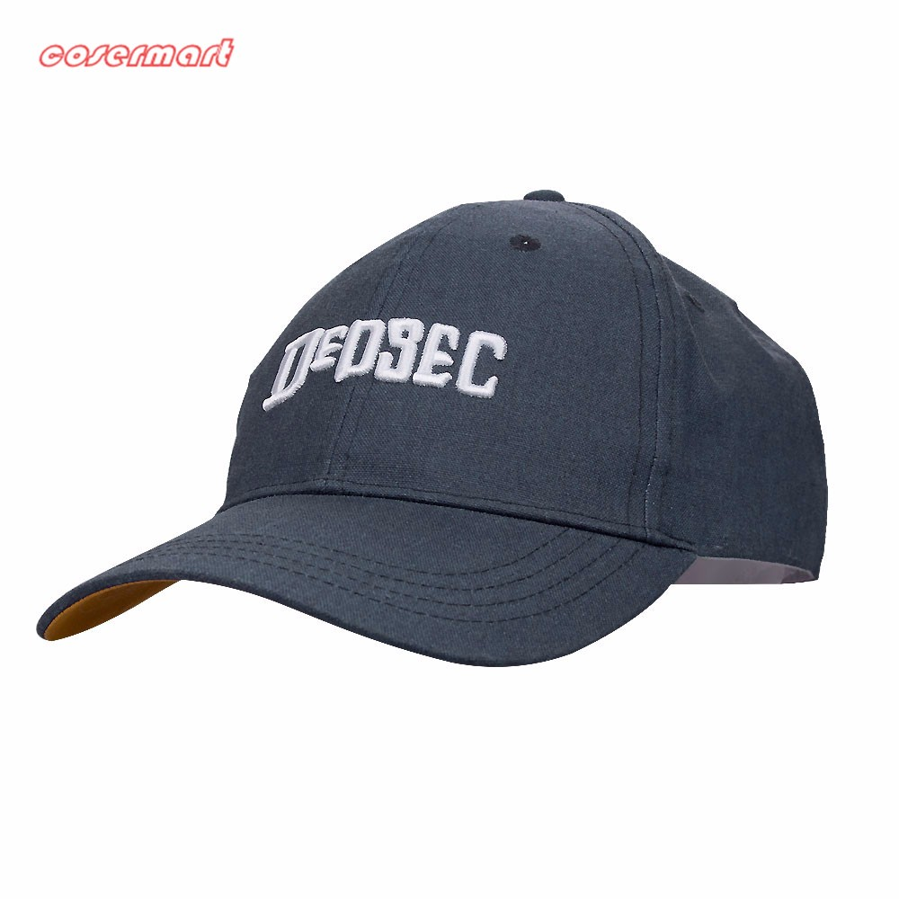 New Fashion Watch Dogs 2 Aiden Pearce Hats Light Blue Baseball Hats Cosplay Peaked Cap Halloween Christmas Gift (3)