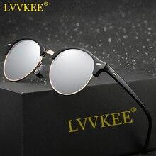 Erika lvvkee hd polarizadas mujeres gafas de sol para hombre del club maestro sun shades gafas de sol gafas de espejo de la lente uv400 oculos masculino