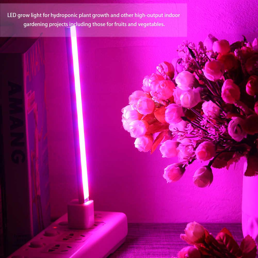 USB DC 5V 14/27 LED Grow Light 3W 5W Merah & Biru Hidroponik Tanaman Tumbuh Light Bar untuk Tanaman Desktop Bunga Tumbuh Spektrum Penuh