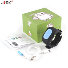 JRGK Q50 GPS Good Child Protected sensible Watch SOS Name Location Finder Locator Tracker for Youngster Anti Misplaced Monitor Child Son Wristwatch