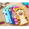 New 3D Cartoon university Sulley Marie Cat Tigger Silicone Gel Rubber Back Case Soft Cover For Apple ipad Mini 1/2/3