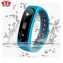 SmartBand E02 здоровья Фитнес трекер спортивные браслет Водонепроницаемый браслет для IOS Android Fitbit Flex Smart группа 4.0 Bluetooth