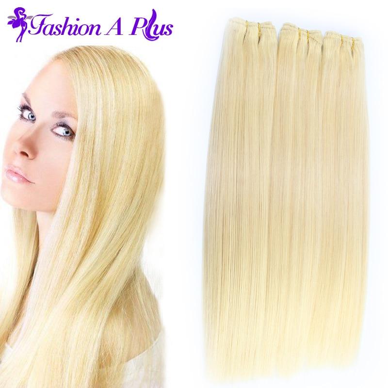 Malaysian Virgin Hair Body Wave # 613 Lágy emberi hajhosszabbítás - Emberi haj (fehérre) - Fénykép 1
