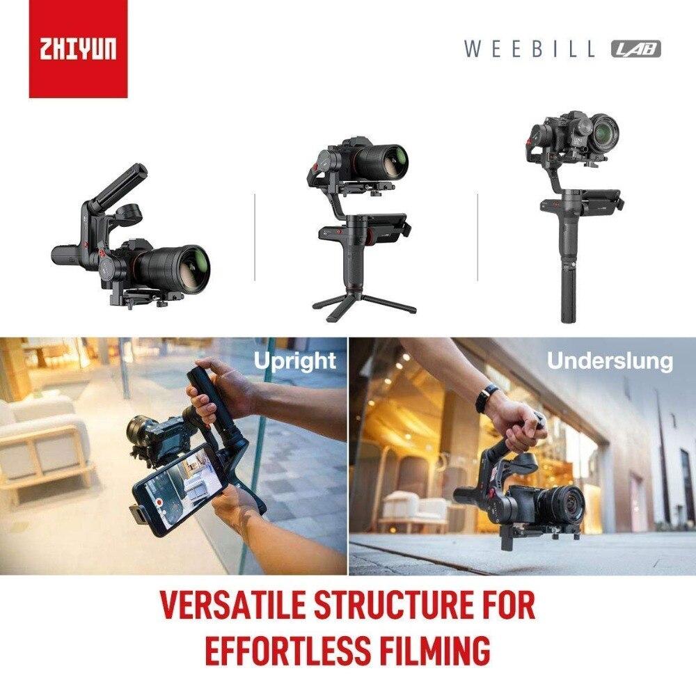 Zhiyun Weebill LABORATOIRE 3-Axe Sans Fil Image Image Transmission Caméra Stabilisateur pour appareil Photo Sans miroir OLED Affichage De Poche Cardan - 2