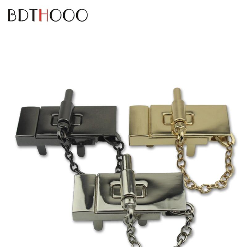 BDTHOOO Metal Lock DIY Bag Purse Luggage Suitcase Hardware Twist Lock Accessories for Women's Handbag Switch Lockbutton туфли nine west ovbad 301033730l