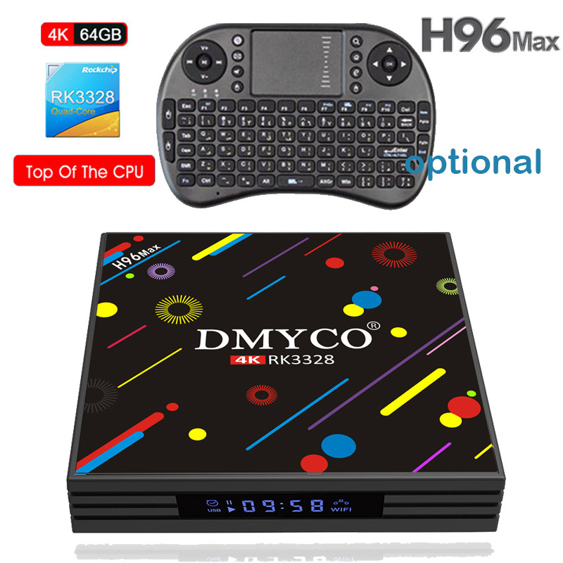 BEST IPTV H96 MAX H2 Android 7.1 TV Box 4GB 64GB RK3328 Quad Core 4K VP9 HDR10 USB3.0 WiFi Bluetooth 4.0 Media Player PK X92 X96 satxtrem h96 max h2 android 7 1 tv box 4gb 64gb rk3328 quad core 4k vp9 hdr10 usb3 0 wifi bluetooth 4 0 media player pk x92 x96