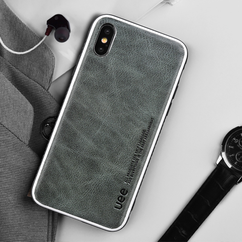 Genuine Leather phone case for iphone 8 plus 6 7 fashion shockproof case covers for iphone x Business leather case for iphone xr