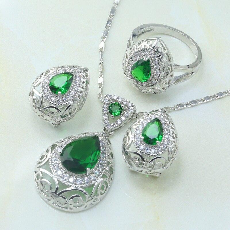 Ensemble de bijoux en argent pour cadeau ...