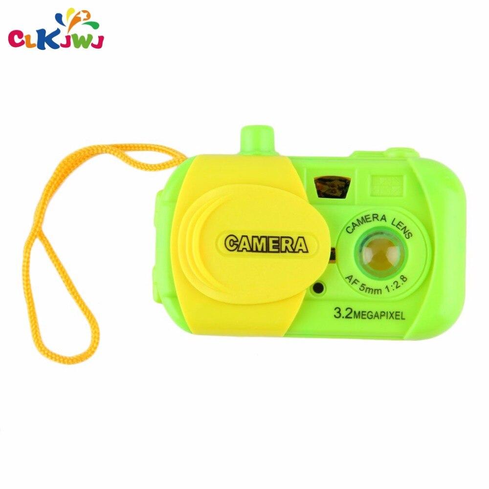 CLKJWJ Portable Kids Children Baby Study Camera Shape Toys Plastic Children Lovely Toys  ...
