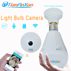 TIANANXUN Bulb Wireless IP Camera 360 Degree Panoramic Wifi Camera Smart Home Security FishEye 3D VR white light Night Vision